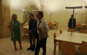 Inaugurato il presidio di lettura presso l'ex Convento Santa Chiara: una passeggiata attraverso i giardini della cultura