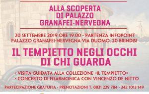 Il Tempietto negli occhi di chi guarda: a Palazzo Granafei-Nervegna una visita tra collezione d'arte e musica