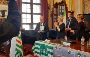 Premio Capitello 2019 al Prefetto Guidato e alla leader della Cisl Furlan