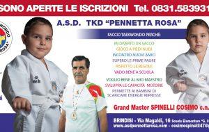 """A.S.D. Taekwondo """"Pennetta Rosa"""": aperte le iscrizioni"""