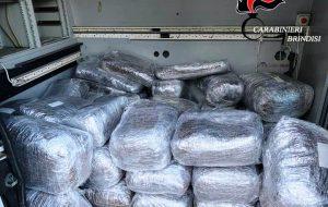 I Carabinieri trovano 217 kg di marijuana in un immobile abbandonato del Rione Cappuccini