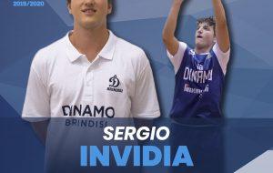 Sergio Invidia è l'ultimo colpo di mercato della Dinamo Brindisi