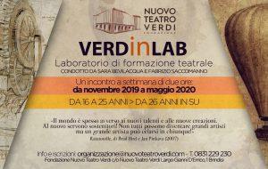 Nuovo Teatro Verdi: presentati lo spot dellla nuova stagione ed il laboratorio teatrale