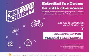 """Mamadù: ecco """"Brindisi for teens, la città che vorrei"""""""