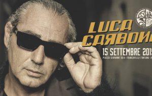 Francavilla: domani Luca Carboni chiude la Festa Patronale 2019