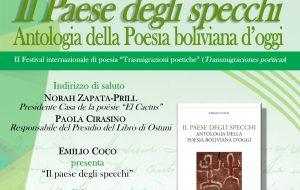 """Festival internazionale di poesia ad Ostuni: oggi """"Il Paese degli specchi"""" e """"Two per Tu – Il corpo nella voce"""""""