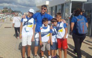 Quattro giovanissimi brindisini a Crotone per la finale del Trofeo Coni di motonautica