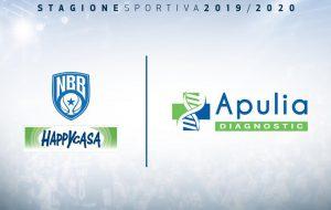 Apulia Diagnostic nuovo top sponsor della Happy Casa Brindisi