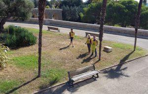Puliamo il Mondo: Legambiente pulisce il piazzale inferiore del Monumento al Marinaio