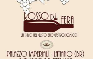 """Domenica 29 a Latiano """"Rosso di Fera"""""""
