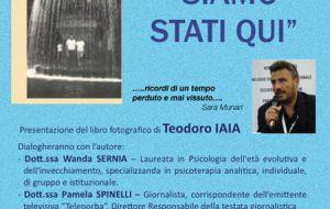 """Si presenta il libro fotografico """"Siamo stati qui"""" di Teo Iaia"""