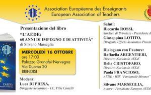 L'AEDE celebra a Brindisi i 60 anni di attività
