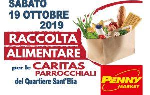 Le parrocchie di Sant'Elia lanciano raccolta alimentare per i poveri presso il Penny Market