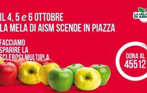 """""""La mela di AISM"""" torna nelle piazze di Brindisi per la lotta alla Sclerosi Multipla"""