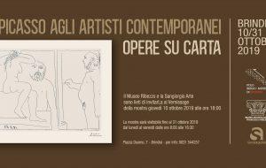 """Giovedì 10 a Mapri si inaugura la Mostra """"Da Picasso agli artisti contemporanei. Opere su carta"""""""