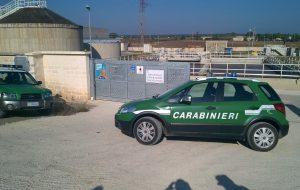 Sversamenti nel Canale Reale: sequestrato il depuratore di Francavilla Fontana, 7 denunce