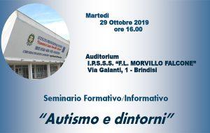 """Martedì 29 al Morvillo Falcone seminario su """"Autismo e dintorni"""""""