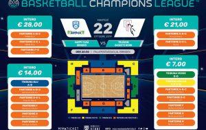 Brindisi-Bonn: in vendita i biglietti per il debutto casalingo in Champions League