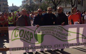 Martedì COISP manifesta in Piazza Santa Teresa