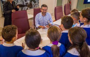 Il Sindaco Denuzzo incontra gli studenti per raccontare il Diario 2019/20