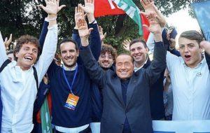 Manifestazione di Piazza San Giovanni, Roma. Nutrita partecipazione di Forza Italia Giovani Provincia di Brindisi