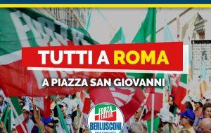 Forza Italia Giovani a Roma per la manifestazione di sabato 19 Ottobre