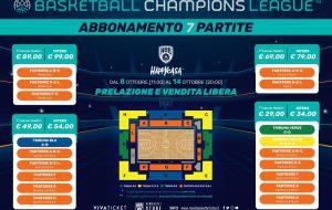 Forever #ForzaBrindisi: parte la campagna abbonamenti per la Basketball Champions League