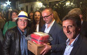 Albano dona un defibrillatore all'Amministrazione Comunale di Cellino San Marco