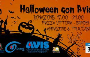 """Giovedì 31 """"Halloween con AVIS"""" in Piazza Vittoria"""