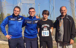 Grande pomeriggio di atletica con i Campionati Provinciali Individuali Ragazzi/e Cadetti/e