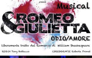 """L'8 Novembre a Ceglie il musical """"Romeo + Giulietta odio/amore"""""""