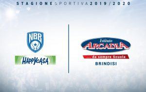 """Istituto Paritario Arcadia"" nuovo Top Sponsor della Happy Casa Brindisi"