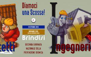Diamoci Una Scossa: anche a Brindisi la 2^ Giornata Nazionale della Prevenzione Sismica