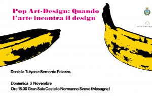 "Domenica 3 a Mesagne ""Pop Art-Design"", quando l'arte incontra il design"