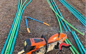 Rubano 1400 metri di cavi in rame dalla rete di illuminazione del nastro trasportatore Enel: quattro arresti