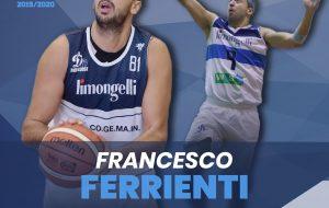 Francesco Ferrienti torna alla Dinamo Brindisi