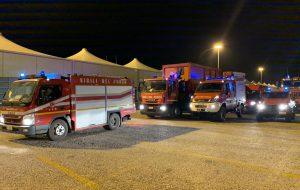 Sisma in Albania. Colonna mobile pugliese in partenza per Durazzo