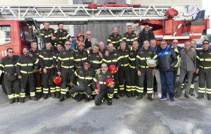 Vigili del Fuoco: il Caporeparto De Francesco va in pensione dopo 40 anni di servizio
