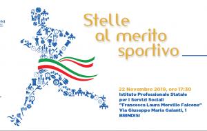 Venerdì 22 il CONI premia le eccellenze sportive della Provincia di Brindisi