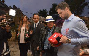 Cellino San Marco: Al Bano testimonial della salute