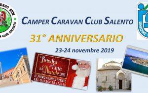 Centinaia di camperisti a Brindisi per il raduno annuale del Camper Caravan Club Salento