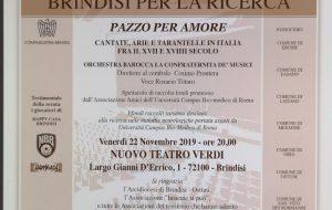 Al Verdi concerto per le malattie neurologiche: il 22 novembre si sosterrà la ricerca scientifica dell'università Campus Bio-medico di Roma