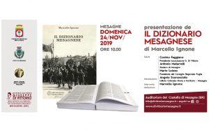 Domenica 24 si presenta il Dizionario Mesagnese di Marcello Ignone