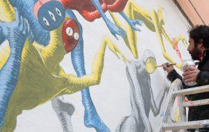 Domani a Latiano si inaugura il murales realizzato dall'artista Alessandro Suzzi