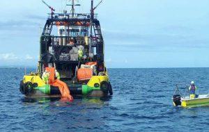 Aereo cade in mare e provoca feriti ed inquinamento. Per fortuna è solo una esercitazione