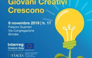 Giovani Creativi Crescono a Brindisi con il Programma di incubazione Traces