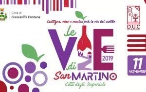 "Lunedì 11 ""Le vie di San Martino"" a Francavilla Fontana"