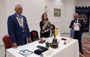 ll Governatore Sergio Sernia incontra il Rotary Club Brindisi Valesio