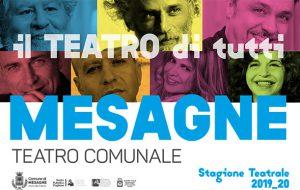 Il Comune di Mesagne e il Teatro Pubblico presentano la stagione teatrale 2020