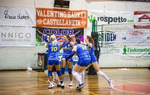 Tonfo del Mesagne Volley a Noci